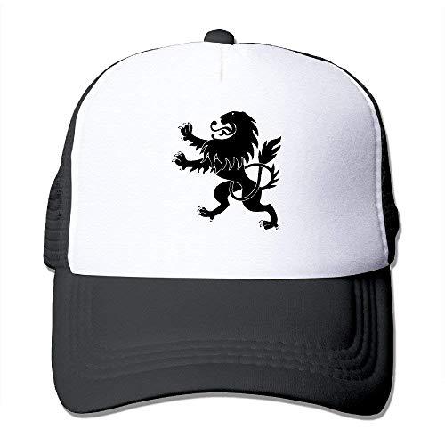 Summer Flexfit Trucker Mesh Hat, Lion Sun Hats Sports Baseball Caps