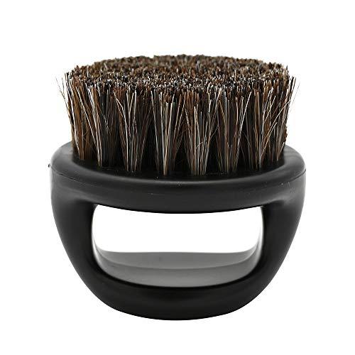 WORMENG Hommes Brosse de rasageMeilleur Rasage de crin Manche en bois RasoirOutil de coiffeur
