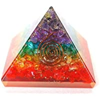 Healing Crystals India Designer & Multi-Chakra energetische Orgonit-Pyramide, Energetische Energie-Generator,... preisvergleich bei billige-tabletten.eu