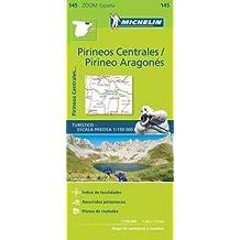 Pirineos Centrales Zoom Map 145 (Mapas Zoom Michelin)