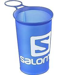 Salomon Soft Cup Speed Vaso Flexible de 150 ml para Botella, Unisex Adulto, Azul, Talla única