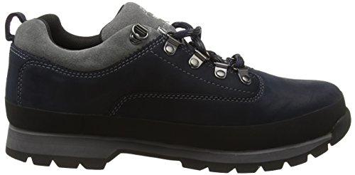 Timberland Eurohiker Low, Chaussures à Lacets Homme Bleu (Dark Sapphir)