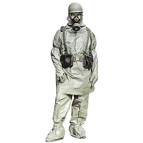 Deux Costume Visage Veste - ABC Combinaison de protection