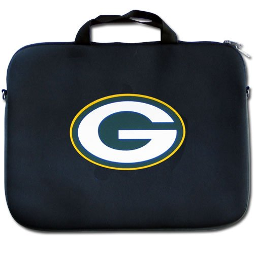 Siskiyou Gifts Co, Inc. NFL Green Bay Packers Neopren Laptop-Tasche (Packers-computer Bay Green)
