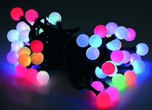 Led Lichterkette 30 Lämpchen Farbwechsel RGB batteriebetrieben