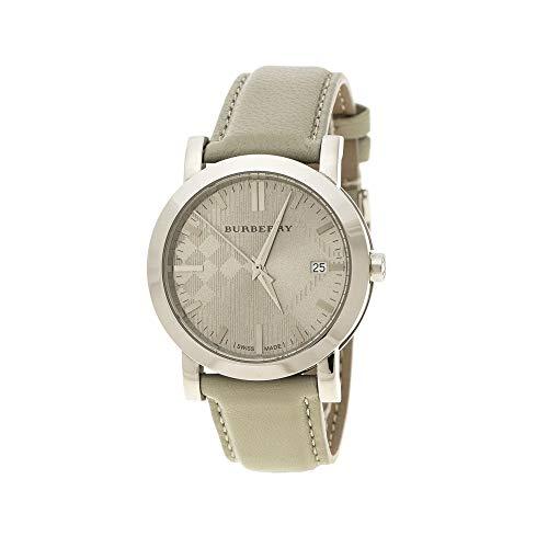 Burberry BU1754 - Reloj de Pulsera para Hombre, Acero Inoxidable, 38 mm