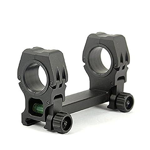 Triplespark 25mm / 30mm Ensemble de montée double anneaux avec niveau de bulle Ensembles de montage QD Montants Fixer 20mm Picatinny Weaver Rail