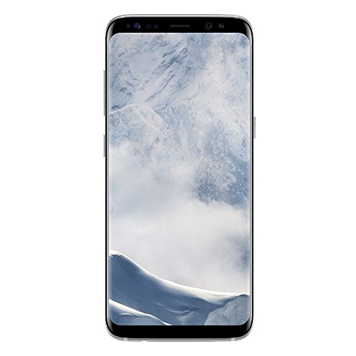 "Samsung Galaxy S8 Plus - Smartphone libre Android (6.2"", 4 GB RAM, 4G, 12 MP), color plata"