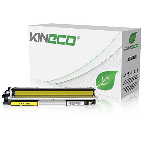 Preisvergleich Produktbild Kineco Toner kompatibel zu HP CF352A Color LaserJet Pro MFP M176n, M177fw, M170 Series - Yellow 1.000 Seiten