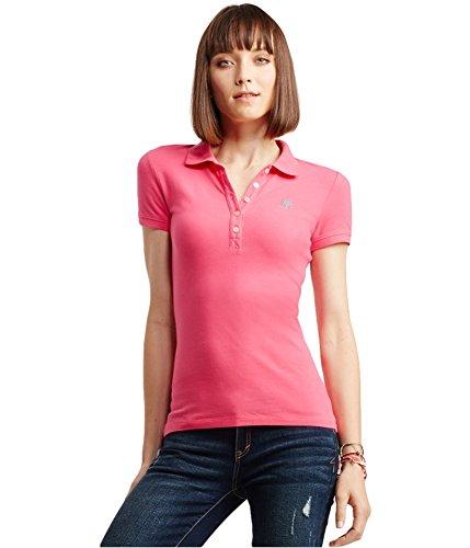 Aeropostale Womens A87 Polo Shirt 662 XS (Polo-shirts Aeropostale)