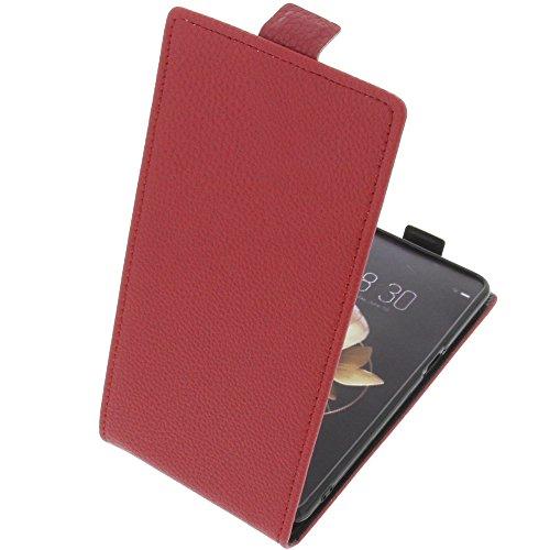 foto-kontor Tasche für Archos Diamond Gamma Smartphone Flipstyle Schutz Hülle rot