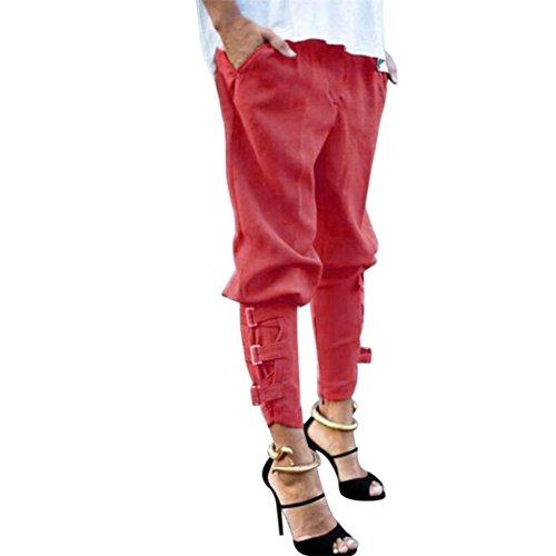 Pantalons de Travail de Taille Plus, GreatestPAK Automne Femmes Mode Populaire Casual Harem Baggy Hip Hop Pantalon Danse Jogging Sueur Pantalons Pantalons Larges