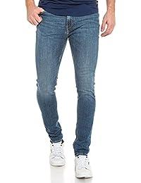 Teddy Smith - Jean bleu délavé super skinny fit - couleur: Bleu - taille: FR 40 US 32
