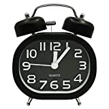 Best Alarm Clock For Heavy Sleepers - COOJA Alarm Clocks Bedside Silent Clock No Ticking Review
