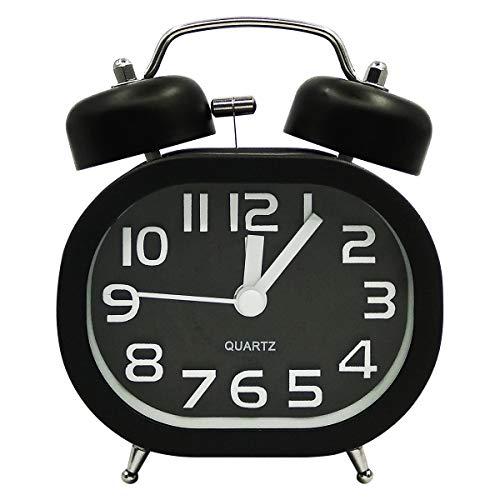 COOJA Reloj Despertador Vintage Retro Alarm Clock