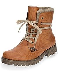 2d5c262fc5cac Suchergebnis auf Amazon.de für: rieker stiefelette cognac: Schuhe ...