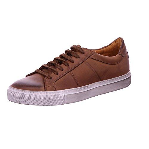 Nicola Benson Herren Sneaker Skat 61079-CUOIO braun 243574 (Benson Sneaker)