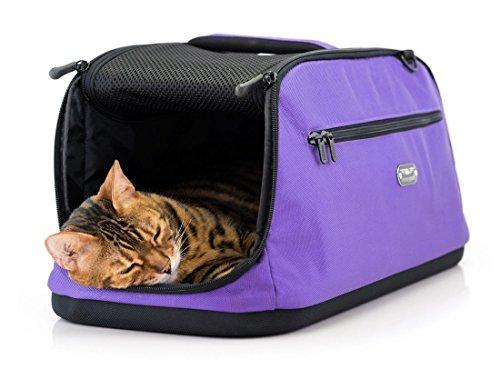 Sleepypod Air (Farbe: True Violet - Limited Edition) Hundetragetasche Katzentragetasche gemäß IATA
