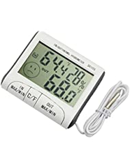 HARRYSTORE DC103 Thermometer Humidity Temperature Hygrometer LCD Display Home Use