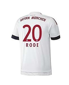 FC Bayern Away Trikot Kinder 2016 - RODE 20, Größe:176