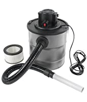 Ash Vacuum Cleaner 1200 W 20 Litres with Fine Washable Filter