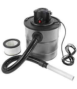Ash Vacuum Cleaner 1200W 20Litres with Fine Washable Filter