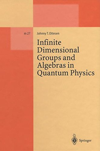 Infinite Dimensional Groups and Algebras in Quantum Physics