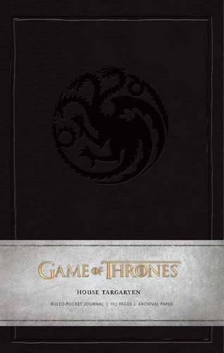 Game of Thrones: House Targaryen Ruled Pocket Journal (Insights Journals) por Insight Journals