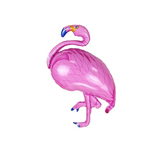 RepairMedia-Shop ★RM★ XXL Folienballon Luftballon Sommer Pool Garten Party Hausparty Flamingo Feier Geburtstag Pink Rosa 105cm P084★RM★