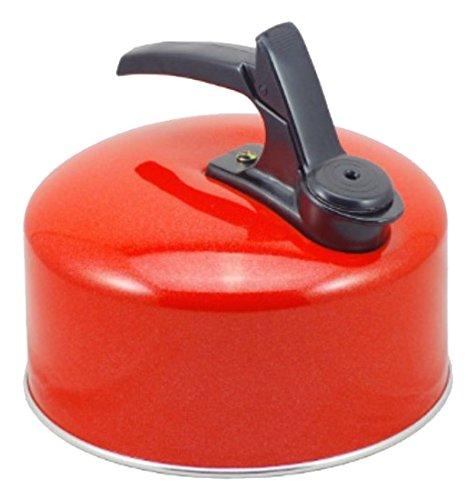 Pendeford 2l Wasserkessel / Flötenkessel / Teekessel rot