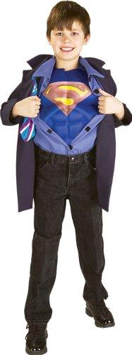 Superman Clark Kent Kinderkostüm - 116cm (Superman Clark Kent Kostüme)