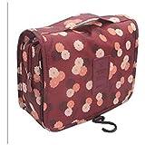 Toiletry Bag Multifunction Cosmetic Bag Portable Makeup Pouch Waterproof Travel Hanging Organizer Bag for Women Girls