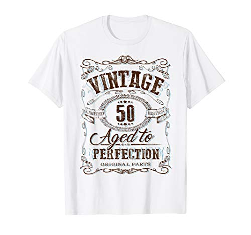 50th  Vintage Birthday gift for 50 year old T-Shirt