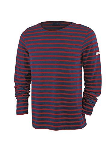 Saint James MINQUIERS- Streifenshirt - Bretagne-Shirts (XXL, Marine Tulipe) - Damen Nautische Streifen-shirt