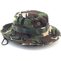 Westeng Sombreros,Sombreros para el Sol de Pesca,Gorra de Camuflaje,Sombreros de Ocio al Aire Libre.Sombrero de Montañismo,1PC