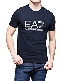 Emporio Armani EA7 t-shirt manches courtes ras du cou homme blu