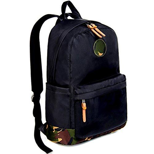 Imagen de uto camo  oxford impermeable tela nylon unisex portátil  escuela colegio bookbag bolsa de viaje bolsa de hombro