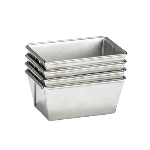 Patisse 2579 Mini Brotformen-Set Basic, 4 teilig, 9 cm