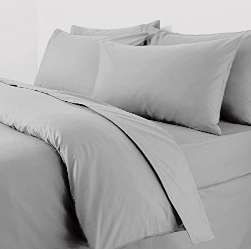 Plain Duvet Cover With Pillow Ca...