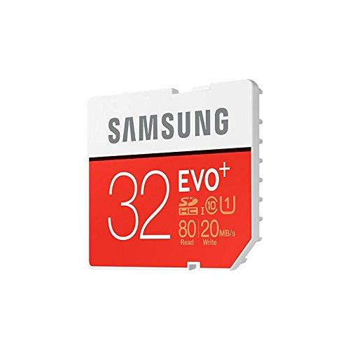 SAMSUNG EVO PLUS 32GB MEMORY CARD FOR CAMERA 80MB/S