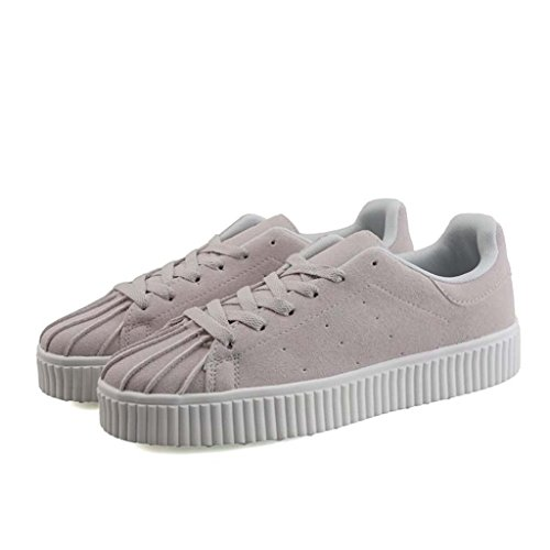 ZXCV Scarpe all'aperto Le scarpe da uomo Shell sono scarpe casual puro traspirante Grigio