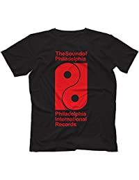Philadelphia International Records T-Shirt 100% Coton