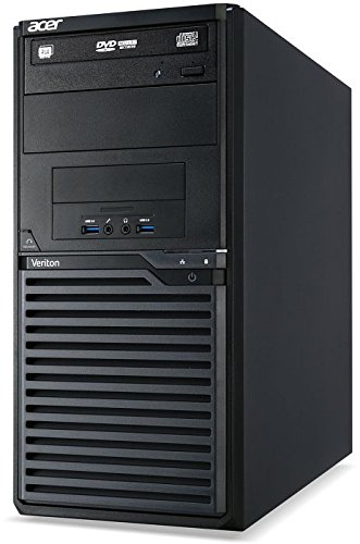 Acer Veriton M2631 | Office PC/Multimedia Computer | Intel Core i3-4130 @ 3,4 GHz | 4GB DDR3 RAM | 500GB HDD | DVD-Brenner | Windows 10 Pro vorinstalliert (Zertifiziert und Generalüberholt)