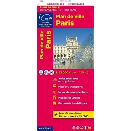 72600 PLAN DE PARIS (INDECHIRABLE) 1/12.000