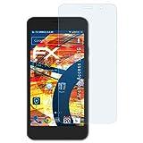 atFolix Schutzfolie kompatibel mit Archos Access 55 3G Panzerfolie, ultraklare & stoßdämpfende FX Folie (3X)