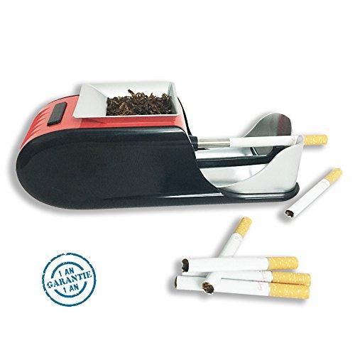 Machine a rouler cigarettes Tubeuse cigarettes electrique roulese cigarette (rouge)