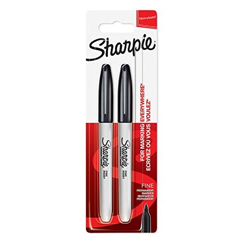 sharpie-marqueurs-permanents-pointe-fine-noirs-lot-de-2