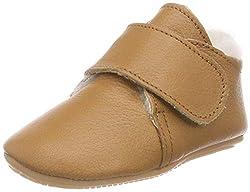 Däumling Unisex Baby Luca Sneaker, Braun (Nappa Cf Sattel 35), 23 EU