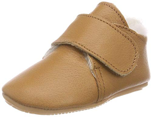 Däumling Unisex Baby Luca Sneaker, Braun (Nappa Cf Sattel 35), 23 EU (Für Jungen Sattel-schuhe)