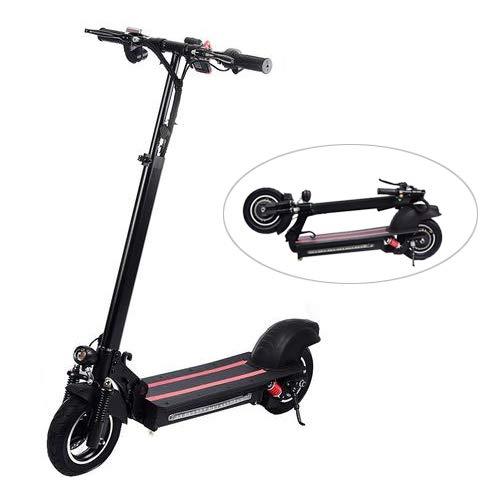 """Rcraftn Elektro Scooter- 10"""" Elektroroller Scooter Einzelradantrieb Aluminiumlegierung Electro Roller Und 800 Watt Brushless Motor, 48-V- / 15-Ah-Batterie, Höchstgeschwindigkeit 40-50km/h"""